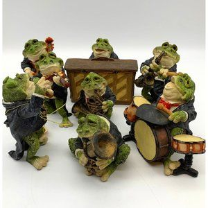 Vntg Rare Toad Musicians collectible treasures